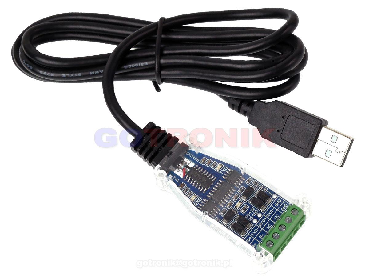 USB - RS485/RS422 konwerter na CH340B z przewodem RBS-034 RBS034