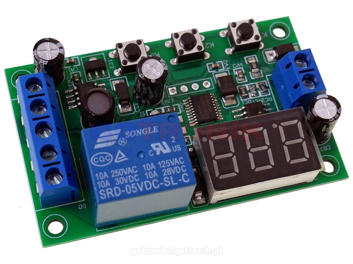 Moduł przekaźnika sterowany prądem 0 do 10A dc BRS042 RBS-042