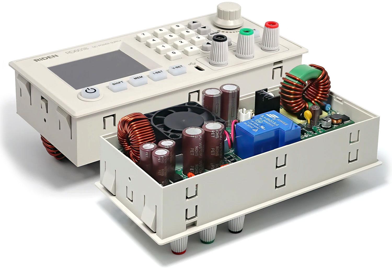 RD6018-W Riden moduł zasilacz laboratoryjny regulowany mikroprocesorowo 0V do 60V 18A 1080W WiFi aplikacja Andorid
