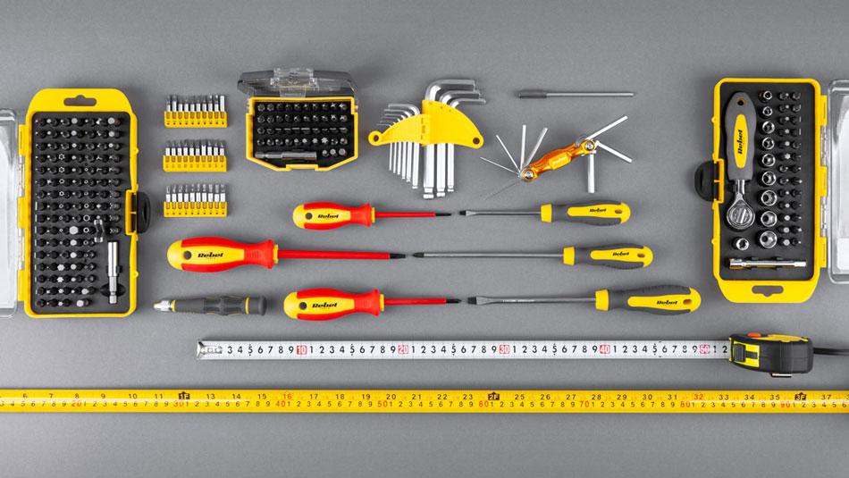 Miara zwijana stalowa 5m szerokość 19mm RB-1130 Rebel