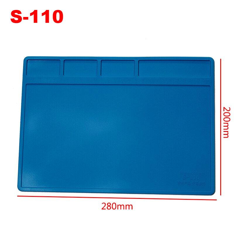 mata silikownowa do serwisu elektroniki gms, rtv, agd, bga 28cm x 20cm S110 S-110