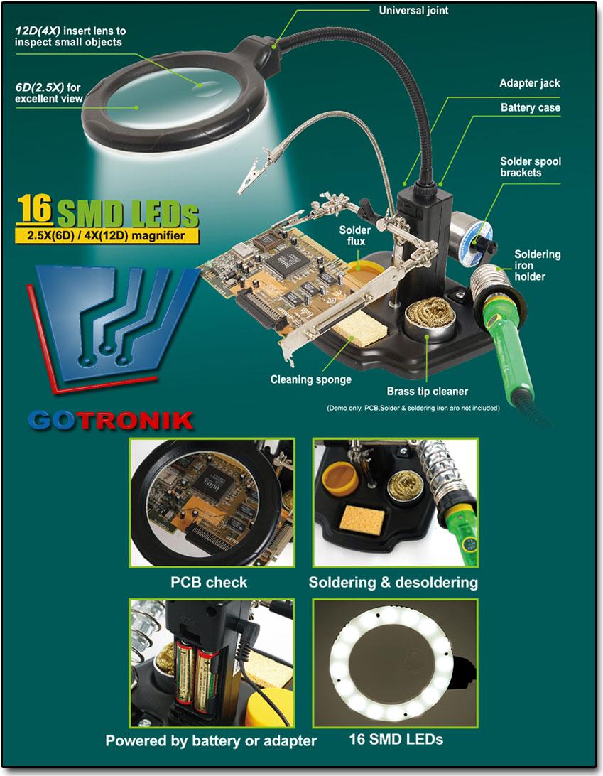 zestaw typu 3 ręka model SN-396 produkcji Pro'skit SN396