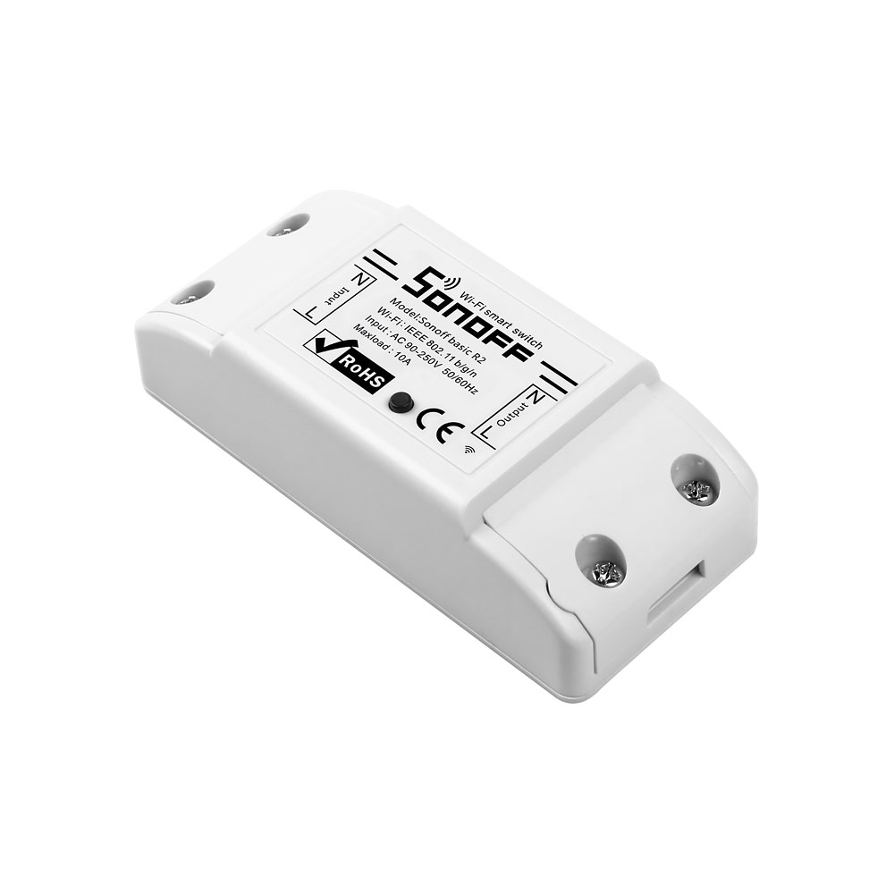 Sonoff Basic przełącznik sterowany z WiFi przekaźnik inteligentny itead