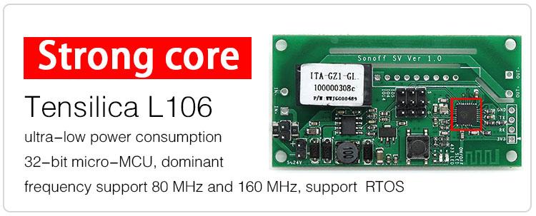 Sonoff SV przełącznik moduł z przekaźnikiem 5V 24Vdc IM160220004 ESP8266