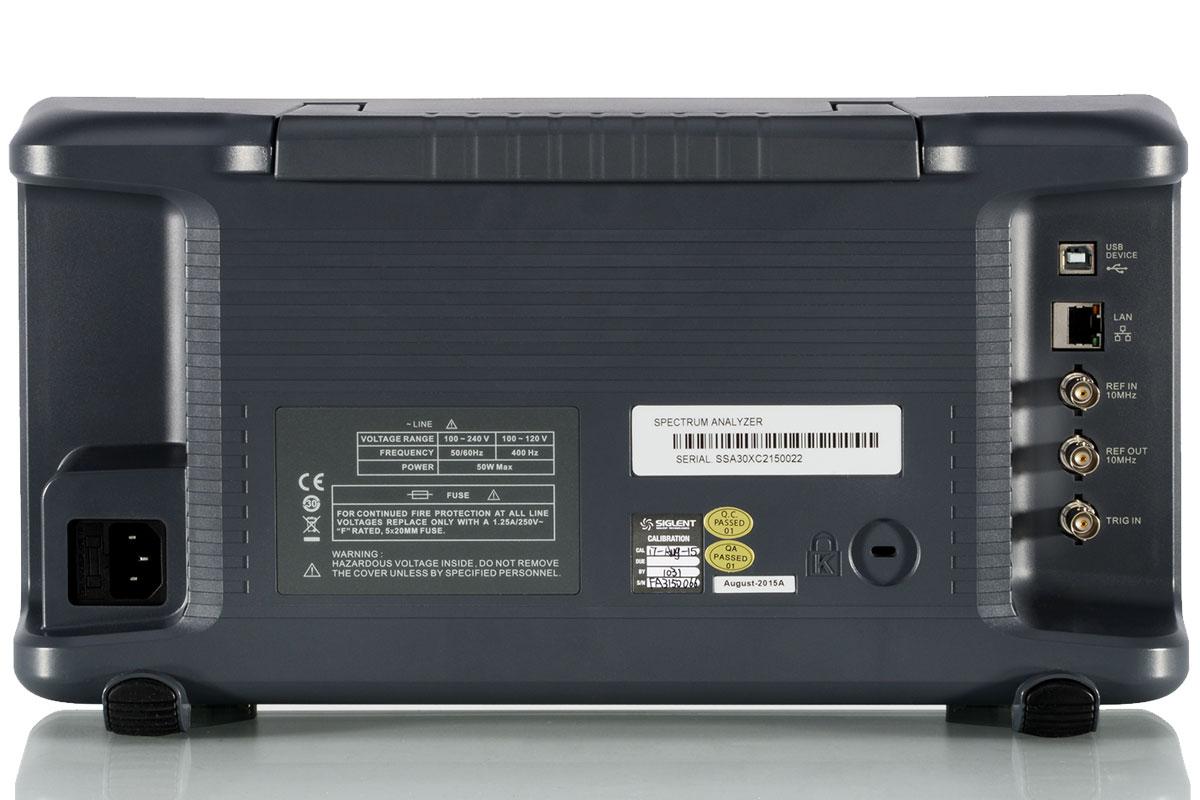 SSA3032X analizator widma 3,2GHz + licencja generatora TG generator śledzący SIGLENT
