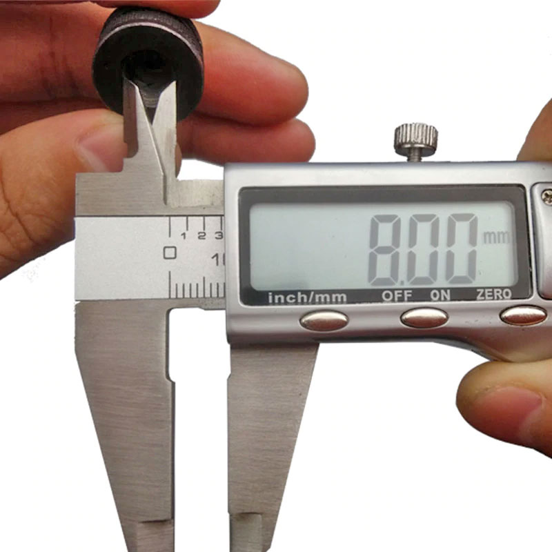 Uchwyt samozaciskowy 0,3 do 3mm na HEX 1/4 6,35mm bte-763 czarny