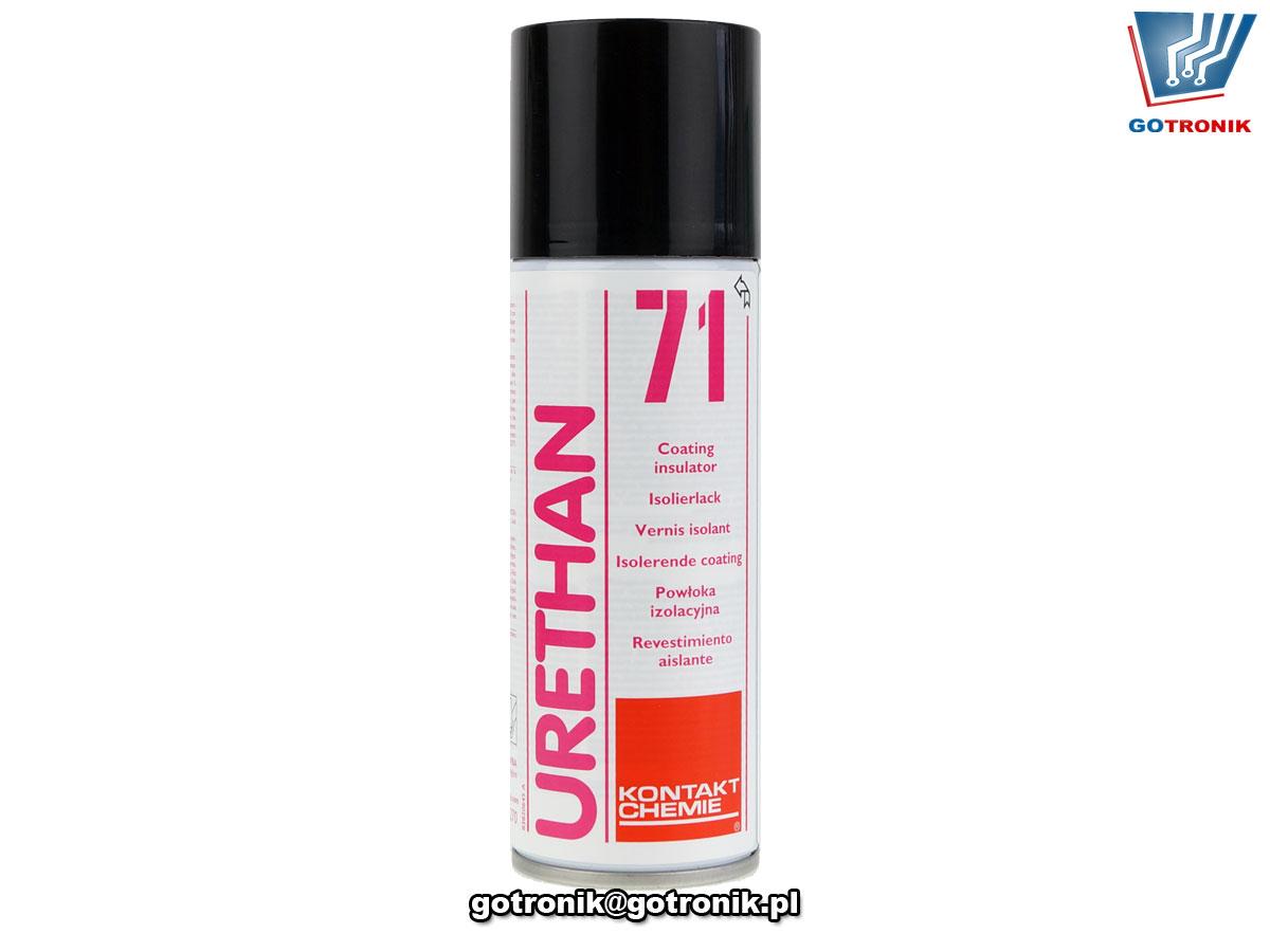 URETHAN 71 200ml lakier poliuretanowy w sprayu Kontakt Chemie