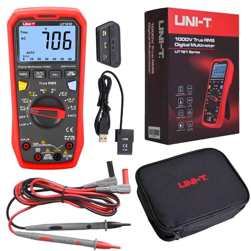 UT161D miernik uniwersalny multimetr cyfrowy UNIT UT-161D