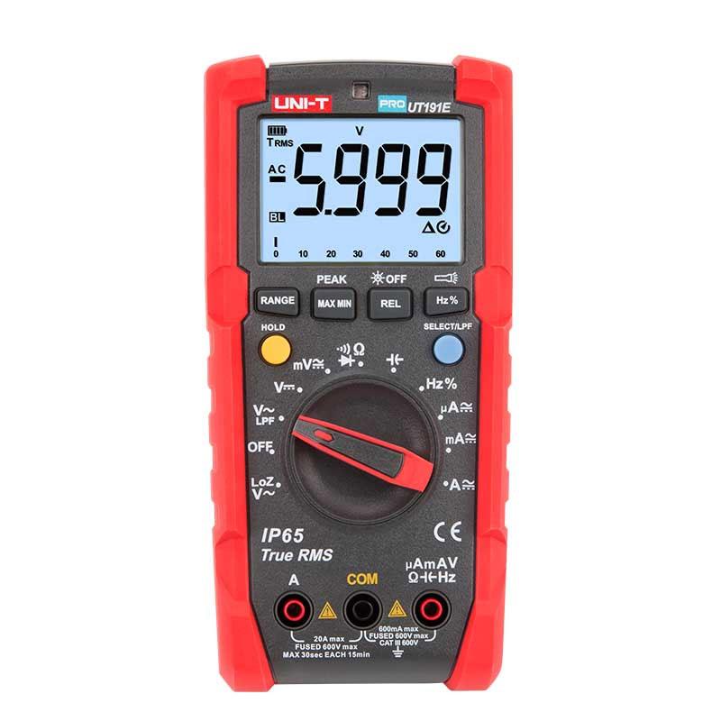 UT191E pro, miernik uniwersalny, multimetr cyfrowy, miernik profesjonalny, multimetr przemysłowy, unit,