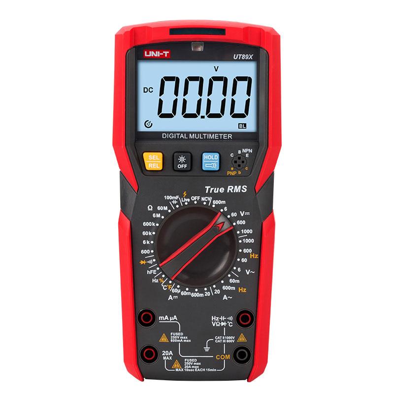 UT89X miernik uniwersalny multimetr Uni-t True RMS do pomiarów 5901890056793 MIE0409
