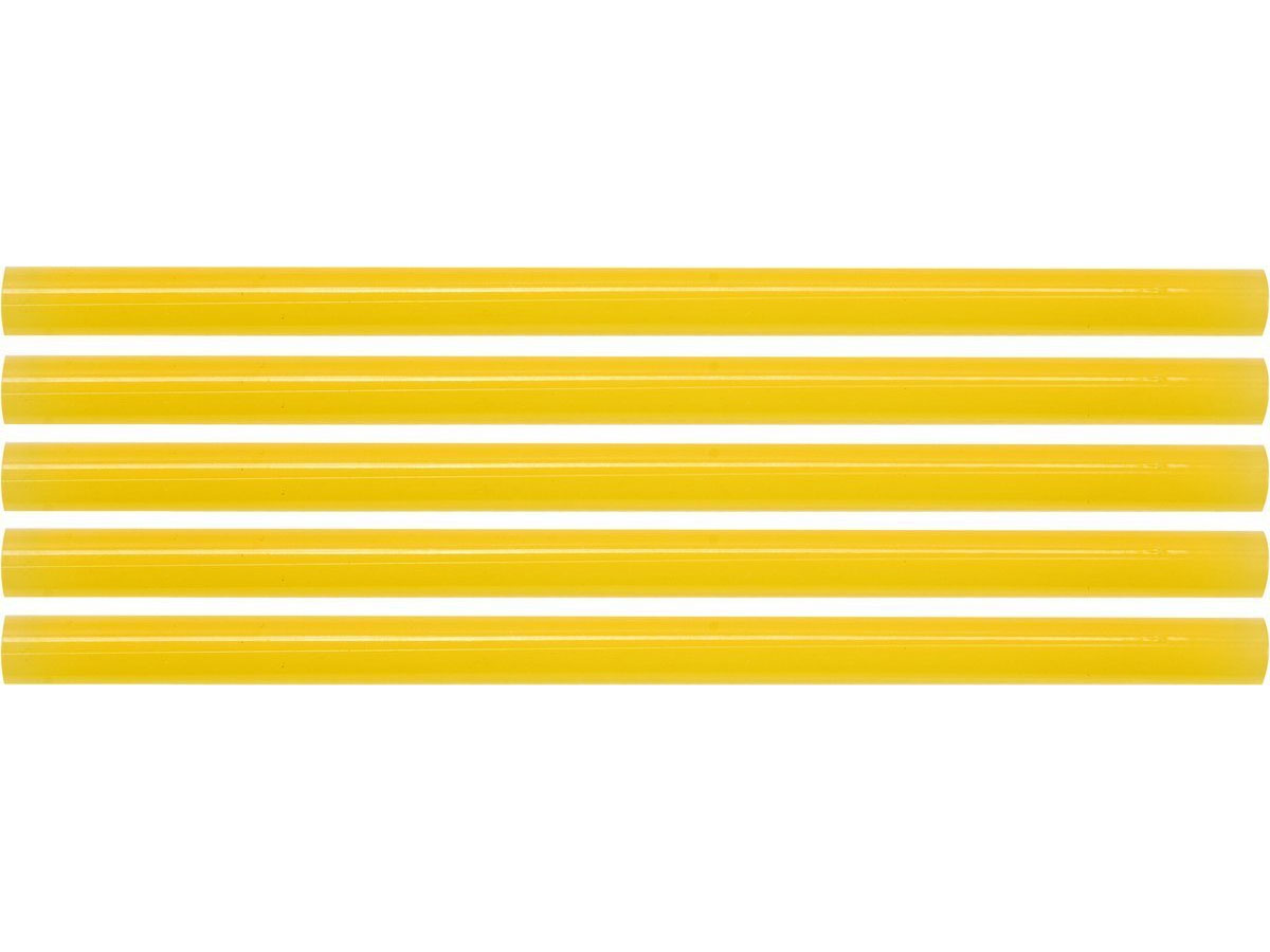 Klej termotoliwy uniwersalny 11,2x200mm 5szt żółty