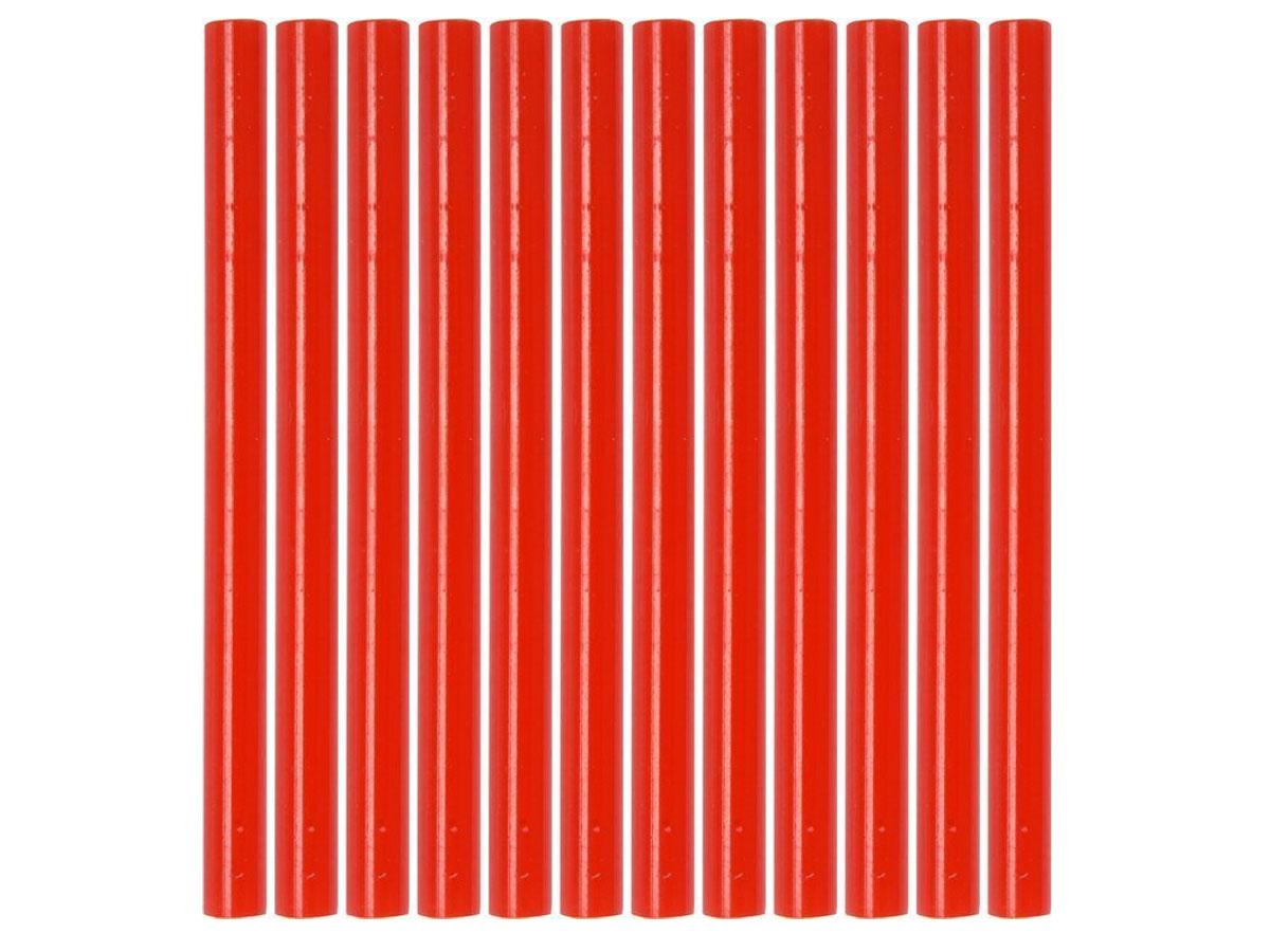 Klej termotoliwy uniwersalny 7,2x100mm 12szt czerwony