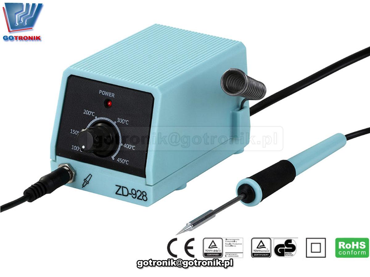 ZD-928 mini stacja lutownicza do precyzyjnego lutowania elementów elektronicznych