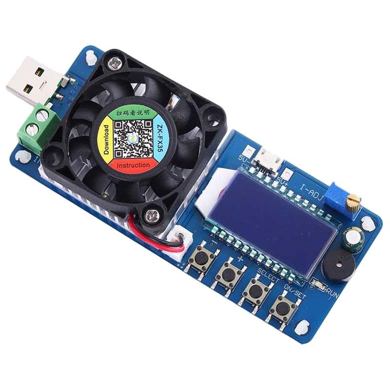 Elektroniczne obciążenie 25W 4A ZK-FX25 BTE-906