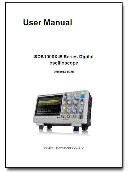 SDS1202X-E Siglent manual