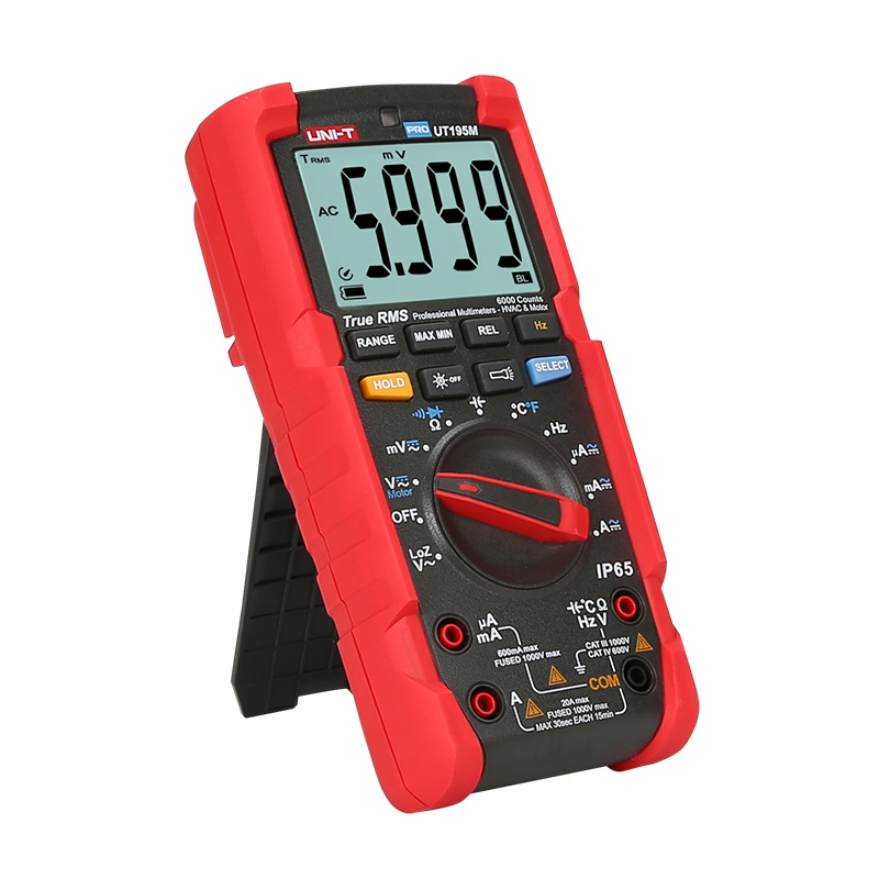 UT195m unit miernik cyfrowy uniwersalny multimetr truerms ip65 profesjonalny temperatura